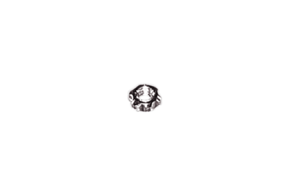 Moeren - D114 ster  moer  2,55 mm