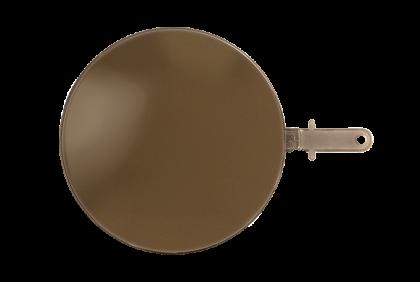 Brillenglazen - W122 brillenglazen  polycarbonaat  bruin