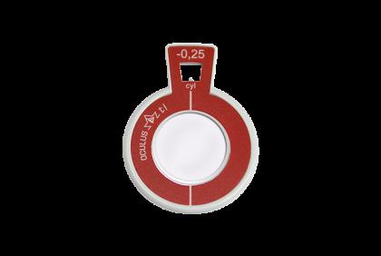 Pasglazen - TR-0023 C-  Oculus  pasglas  90°