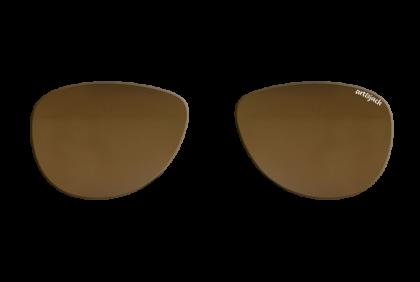 Voorgeslepen brillenglazen -  art&jack  brillenglazen  mineraal glas  bruin  ZO-0019