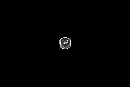 Moeren - D019 zeskant  moer  2,0 mm
