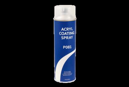 Diverse materialen - P081 acrylcoating spray  500 ml