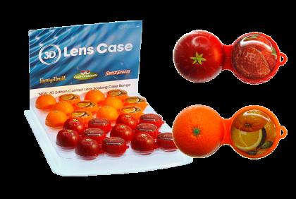 Contactlensproducten - ET-E35 display lenshouder  fruit 3D