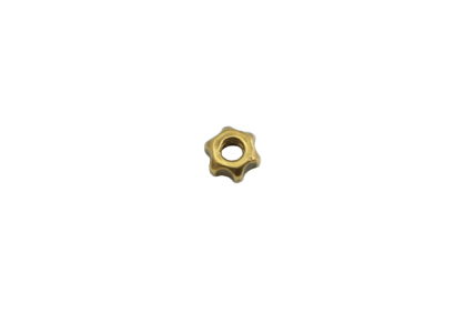 Moeren - D026 ster  moer  2,55 mm