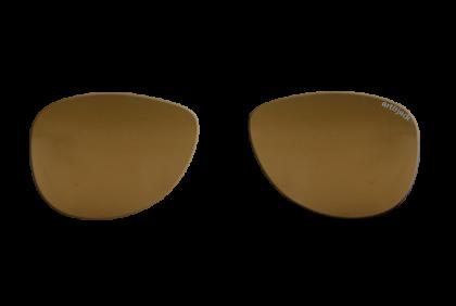Voorgeslepen brillenglazen -  art&jack  brillenglazen  bruin  gepolariseerd  ZO-0019  TAC