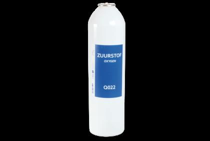 Soldeermaterialen - Q022 zuurstof met koperen ring  13 gr  NIET VOOR MINIFLAM