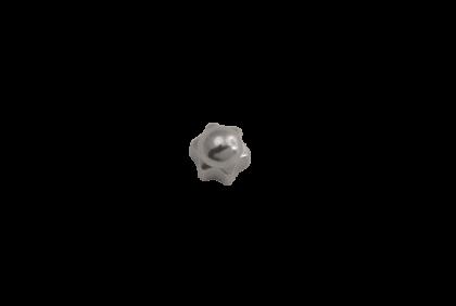 Moeren - D115 ster  dopmoer  2,0 mm