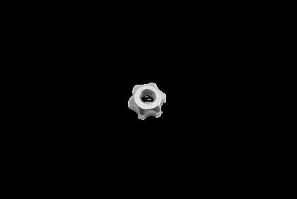Moeren - D033 ster  moer  2,55 mm