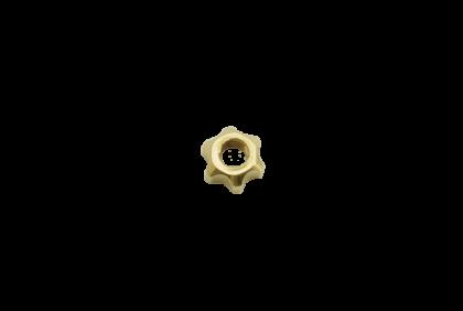 Moeren - D030 ster  moer  2,55 mm