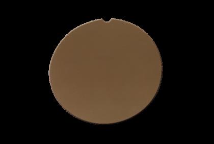 Brillenglazen - W050 brillenglazen  CR39  bruin  80%