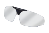 PC-1001C polycarbonaat lens  transparant  ZO-1001  front  SportOfar