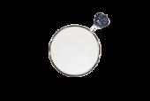 TR-0013 C-  metalen vatting  pasglas  45°