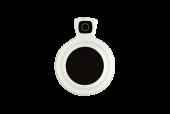 TR-0010 kunststof vatting  occluder pasglas