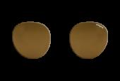 PC-0005 art&jack  brillenglazen  mineraal lens  bruin  ZO-0020