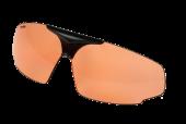 PC-1001E polycarbonaat lens  ZO-1001  front  SportOfar  oranje